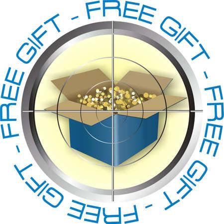 free gift Illustration