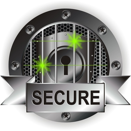 secured Stock Vector - 12842340