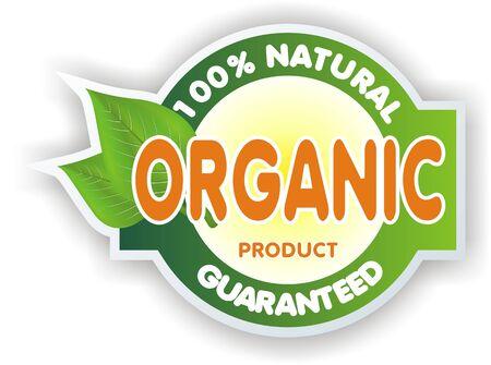organic sign Banque d'images