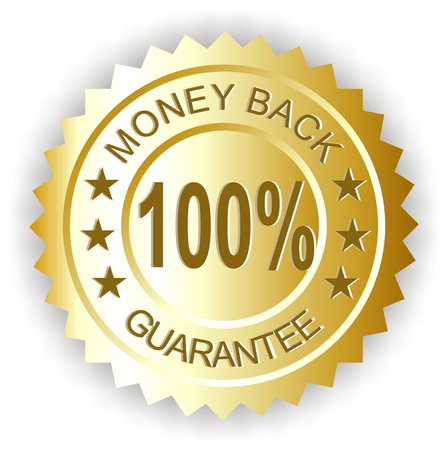 money back guarantee seal photo