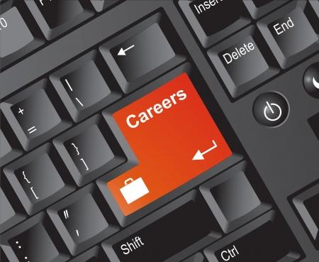 Keyboard Series Careers Orange