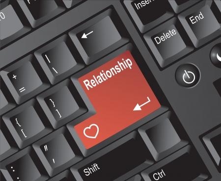 Keyboard Enter Series - Relationship