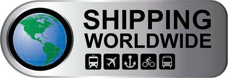 Shipping Worldwide Silver