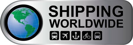 Shipping Worldwide Silver