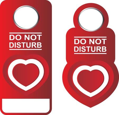 do not disturb sign Illustration