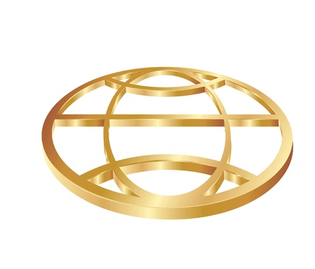 gold globe: Gold Globe
