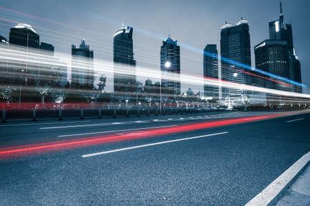 traffic of city Stock fotó