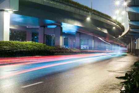 yan an road Viaduct , Shanghai, China Stock fotó