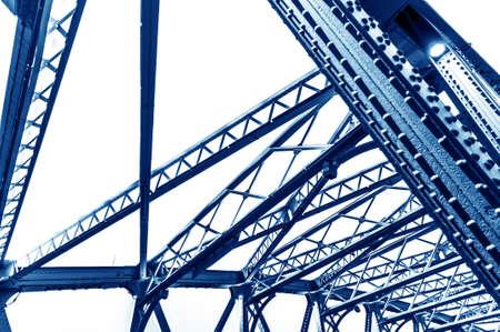 Abstract view of bridge