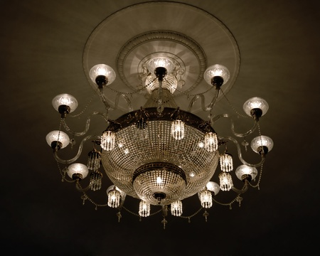 lustre: Glowing lustre at the assembly hall
