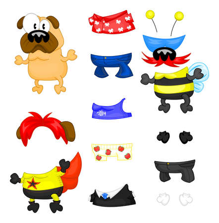 Pug y ropa