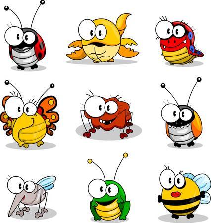 漫画の昆虫