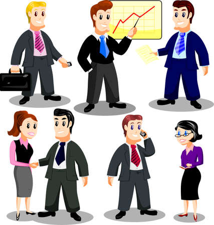 Office personnel Stock Vector - 9497127
