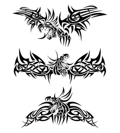 tatouage dragon: Tatouages dragons