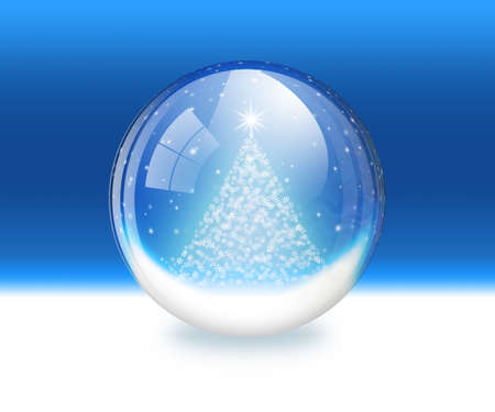 Snow globe Stock Photo - 11406528