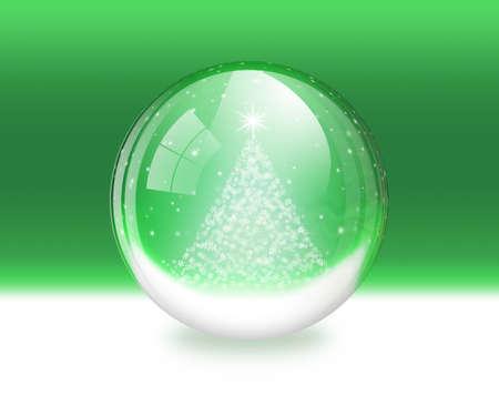 snowdome: Snow globe Stock Photo