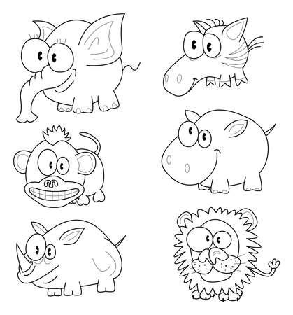 Animales de la historieta
