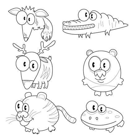 anuran: Cartoon animals