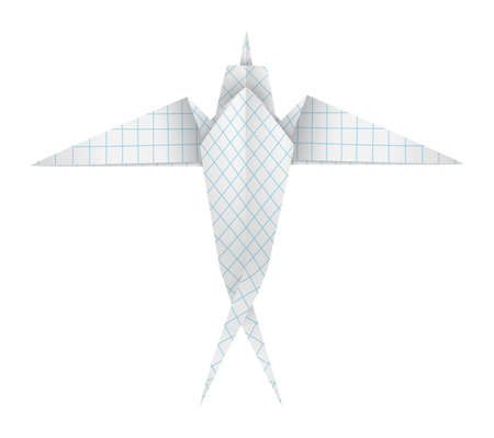 workmanship: Origami swallow