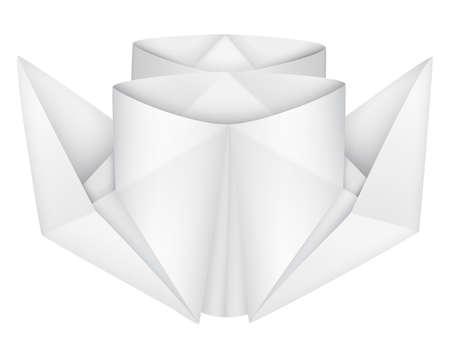 steamship: Origami stoomschip