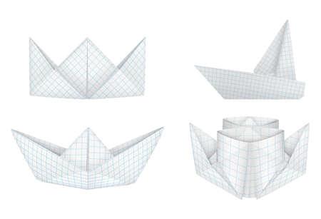 tallship: Origami ships set