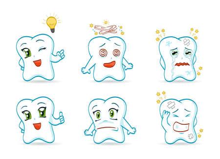 dientes caricatura: Dientes