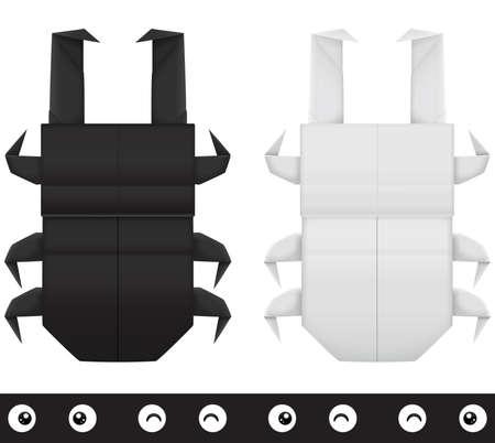 creation kit: Origami stag beetle creation kit