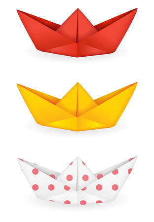 workmanship: Origami ships