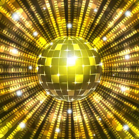 dancefloor: Disco ball Illustration
