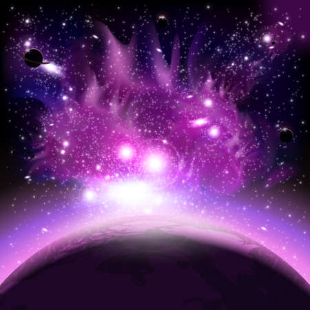 space background: Space background Illustration