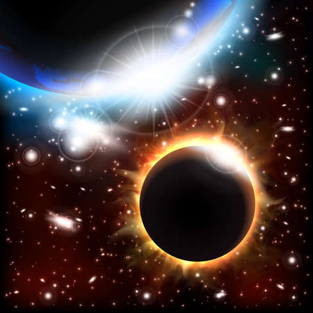 heaven and earth: Eclipse