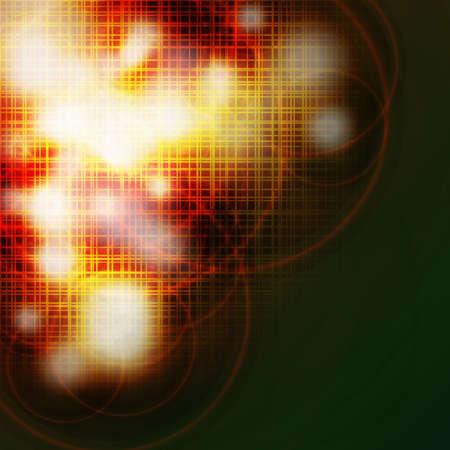 smolder: Abstract grid burned background Illustration