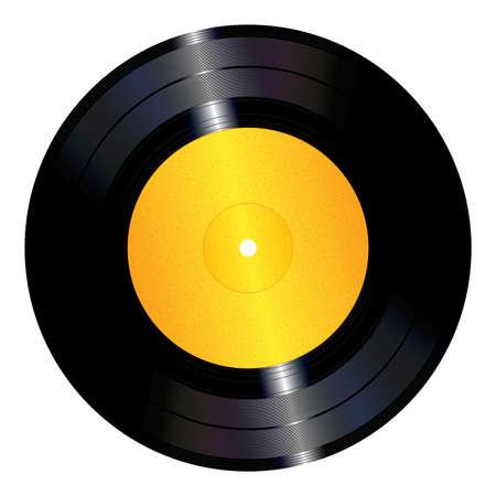 비닐 레코드 일러스트