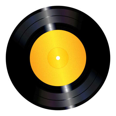 Vinyl record Stock Vector - 37636798