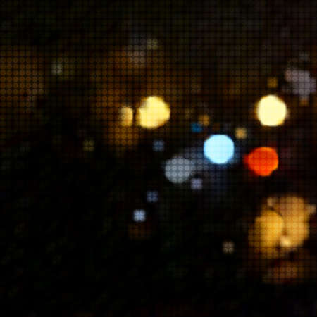 night life: An abstract background with night lights.