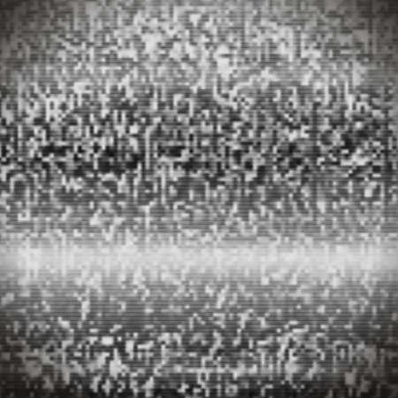 the noise: TV static noise