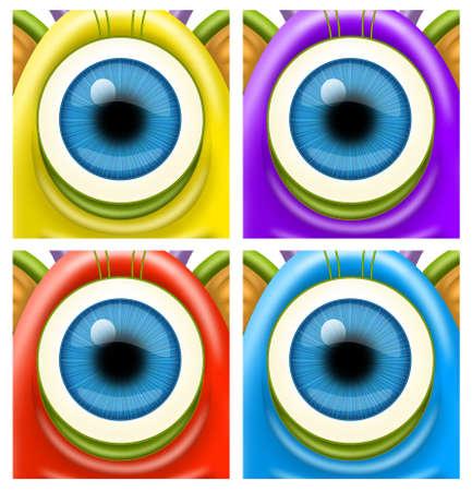 fantastic creature: Monsters eyes