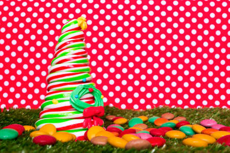 Christmas candy tree