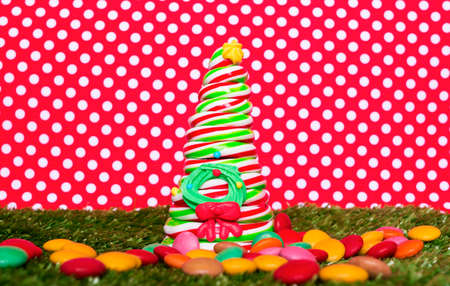 dragee: Christmas candy tree
