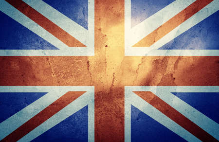 grunge union jack: The Union Jack