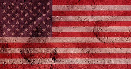parched: An illustration of the American Flag.