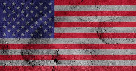 constitucion: bandera americana Foto de archivo