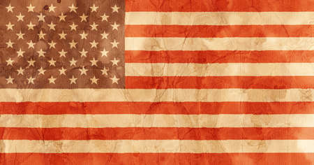 grimy: An illustration of the American Flag.