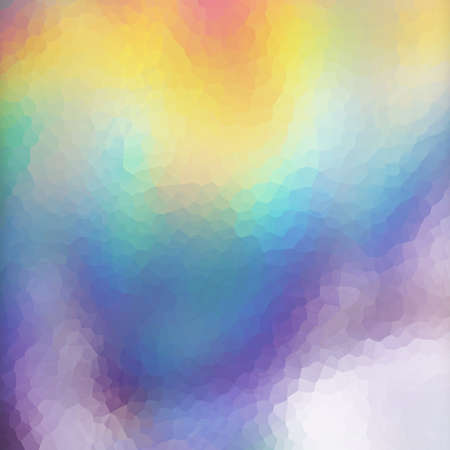 holographic: Mosaic holographic texture