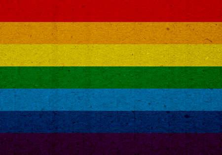 pasteboard: LGBT flag illustration