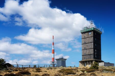 The weather station on the mountain Brocken