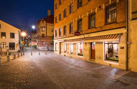 gothenburg: Gothenburg Haga at night