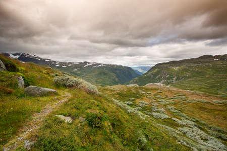 national park: Landscape National Park in Jotunheimen Stock Photo