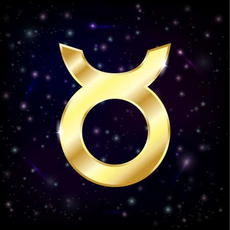 gold: gold horoscope zodiac sign Taurus