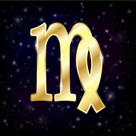 Virgo Luxury Zodiac sign